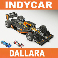 INDYCAR Dallara 2009 2 versions