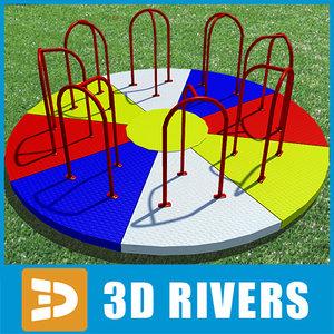 merry-go-round playground common 3ds