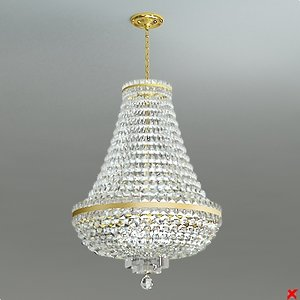 chandelier light 3ds