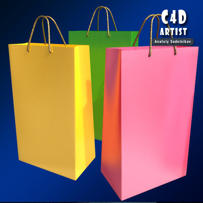 3d shopping package
