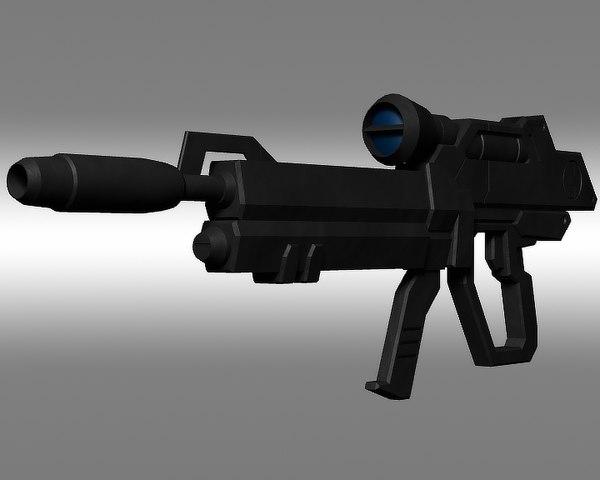aile strike gundam o 3d model
