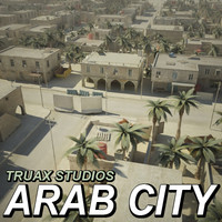 Large Arab City - Set02
