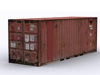 ship container 3d 3ds