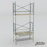 3d model scaffold construction