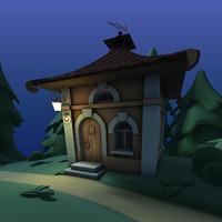 max fairytale house scene