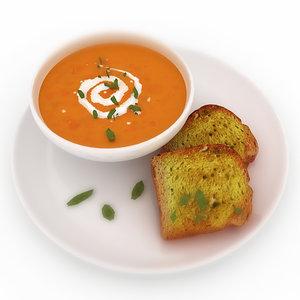 3ds food soup -