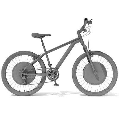 3d mountain bike model
