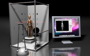 3d c4d david laserscanner