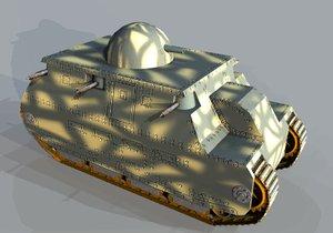 3ds tanks ww1