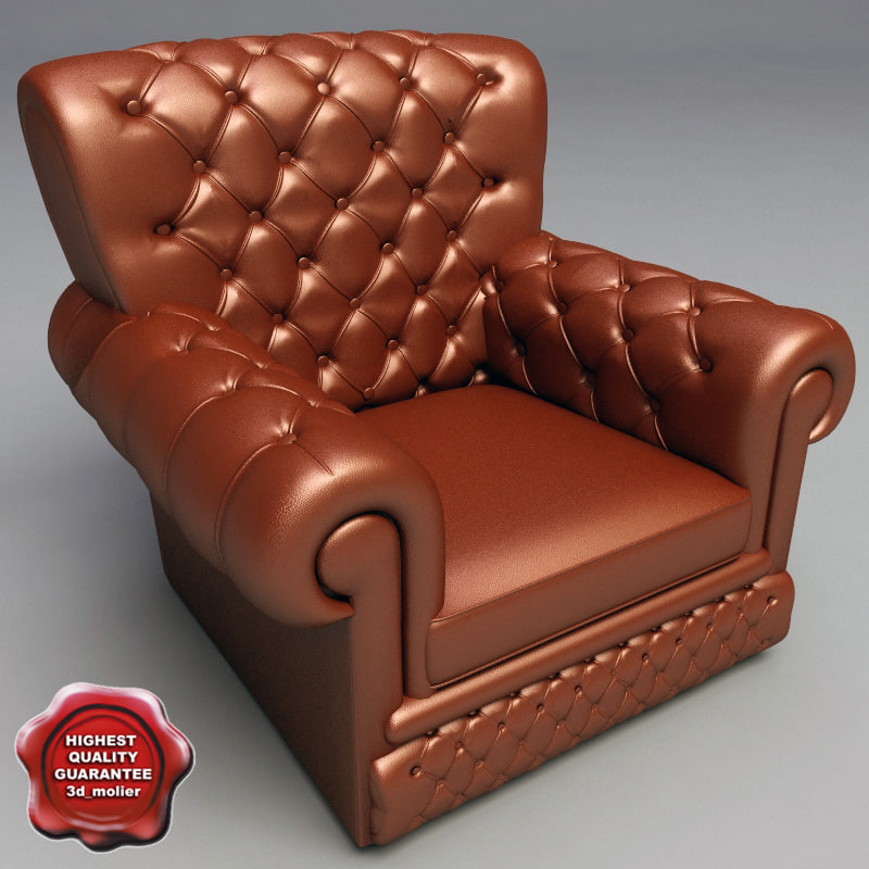 3ds armchair v4