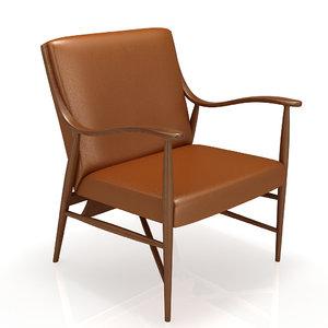 armchair teak house casablanka 3ds