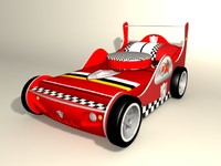 race bed 3d model