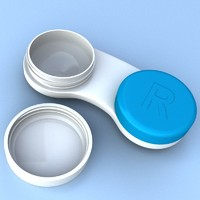 Contact Lens Case And Cleaner