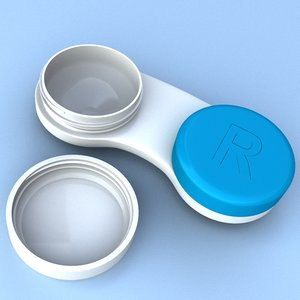 contacts lens case cleaner 3ds