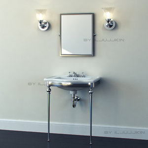 classical furniture devon 3d 3ds