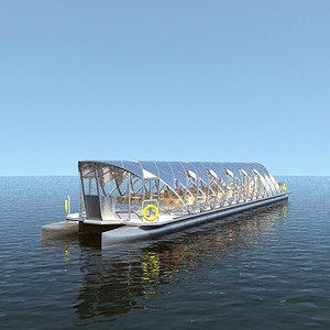 seabus boat 3d model