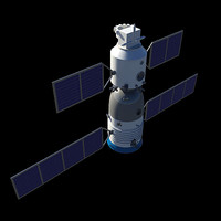 Chinese Spaceship Shenzhou