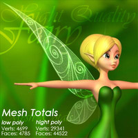 Leaves Fairy