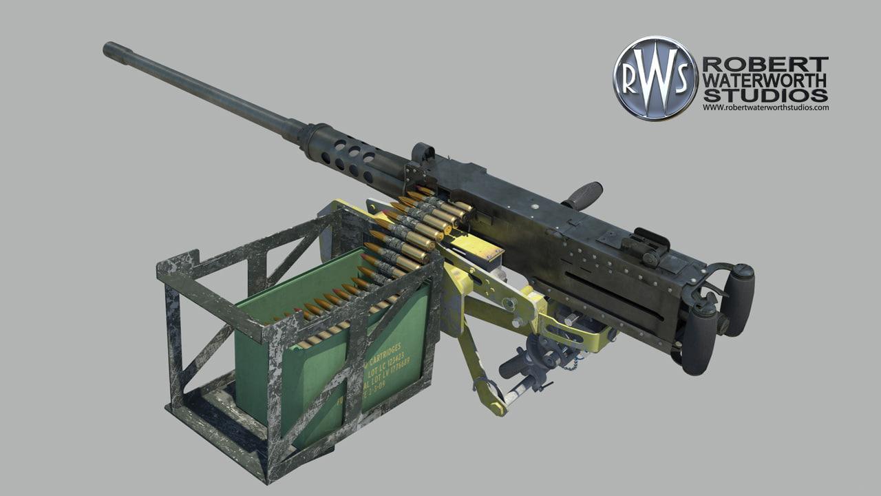 maya 50 cal machine