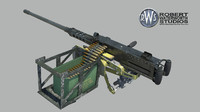 50 Cal. Machine Gun Maya 2009