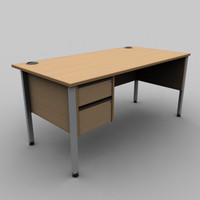 Rectangular Desk B