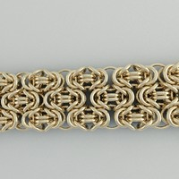 bracelet byzantine three-line 3d 3ds