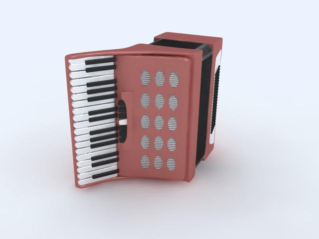 3ds max music instrument