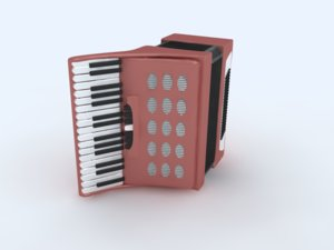 3ds max music instrument