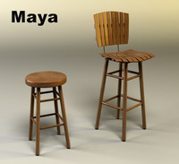Bar Chair and Stool