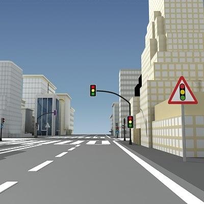 city buildings 3d 3ds