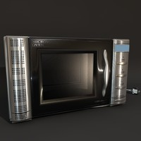 microwave oven 3d c4d