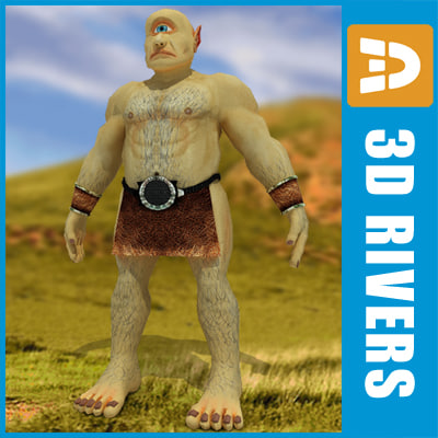 greek cyclops 3ds