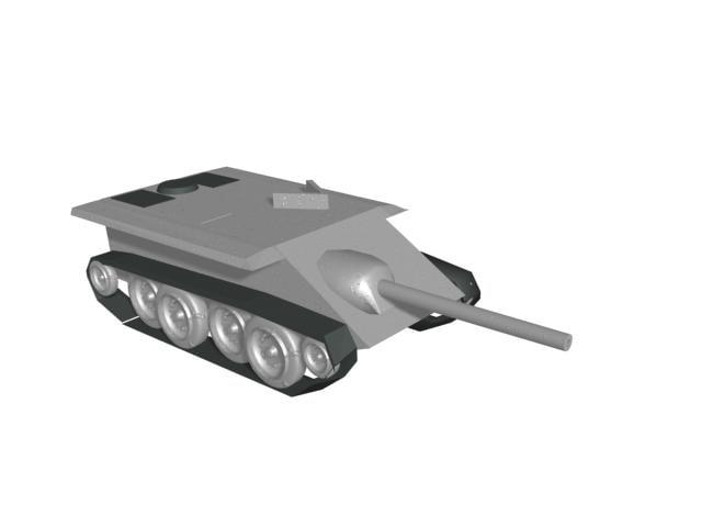 3d late ww2 german project model
