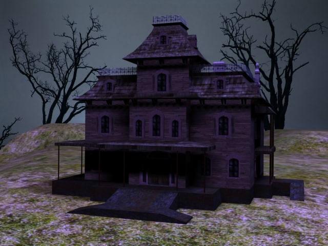 phantom haunted house 3d max