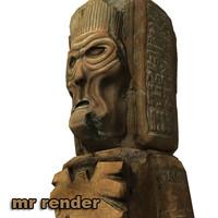 aztec statue 1