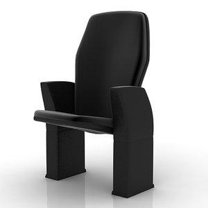 stadium vip seat 3d model