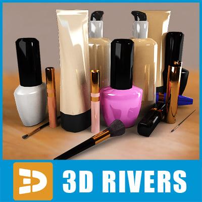 3d make set model