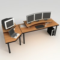 PC Office Desk 03