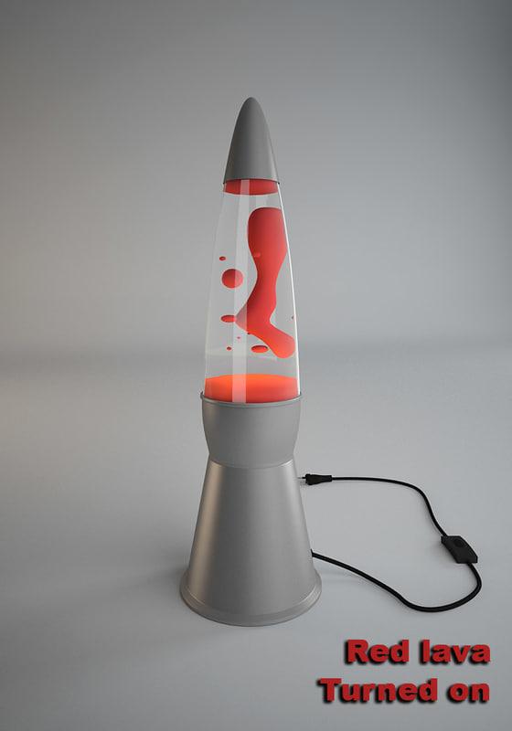 lava lamp 3d 3ds