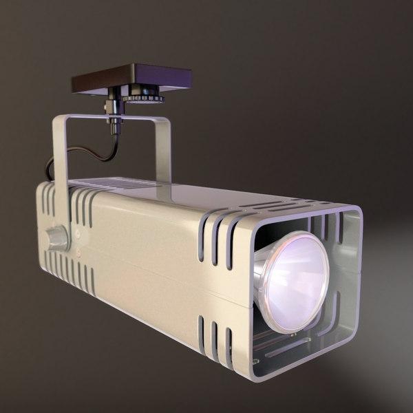 3d spotlight model