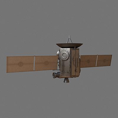 3ds sci-fi spy satelite