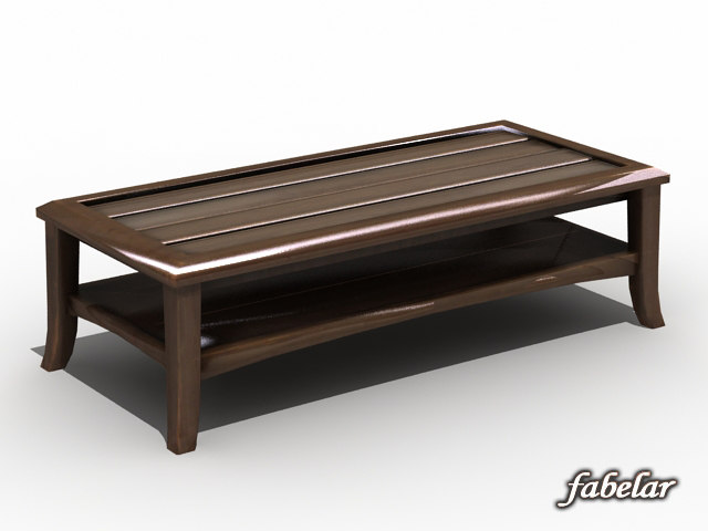 max old coffee table