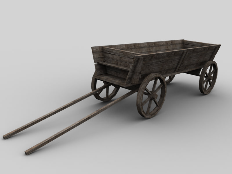 cart vehicle 3d 3ds