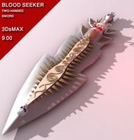 maya fantasy sword