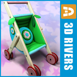toy baby carriage 3ds