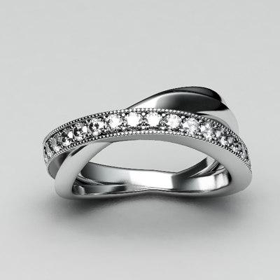 3dsmax diamond ring