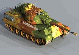 3d heavy tank confederate