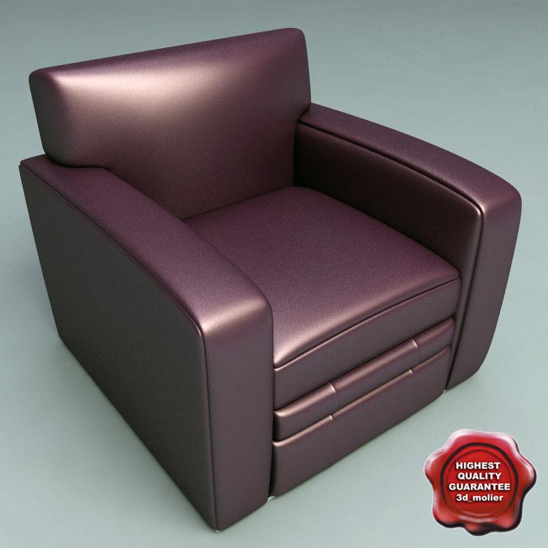 armchair v10 obj