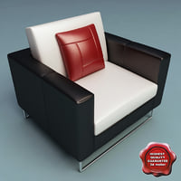 3ds max armchair v9