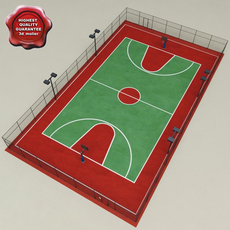 basketball court v1 3ds